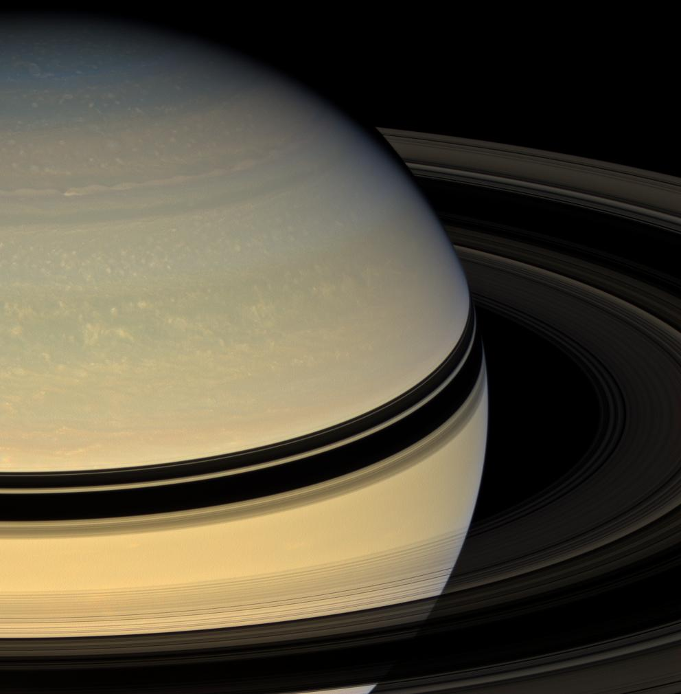 Saturn in all its beauty