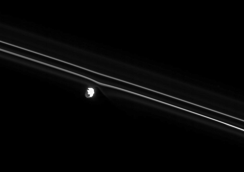 Prometheus and Saturn's F ring