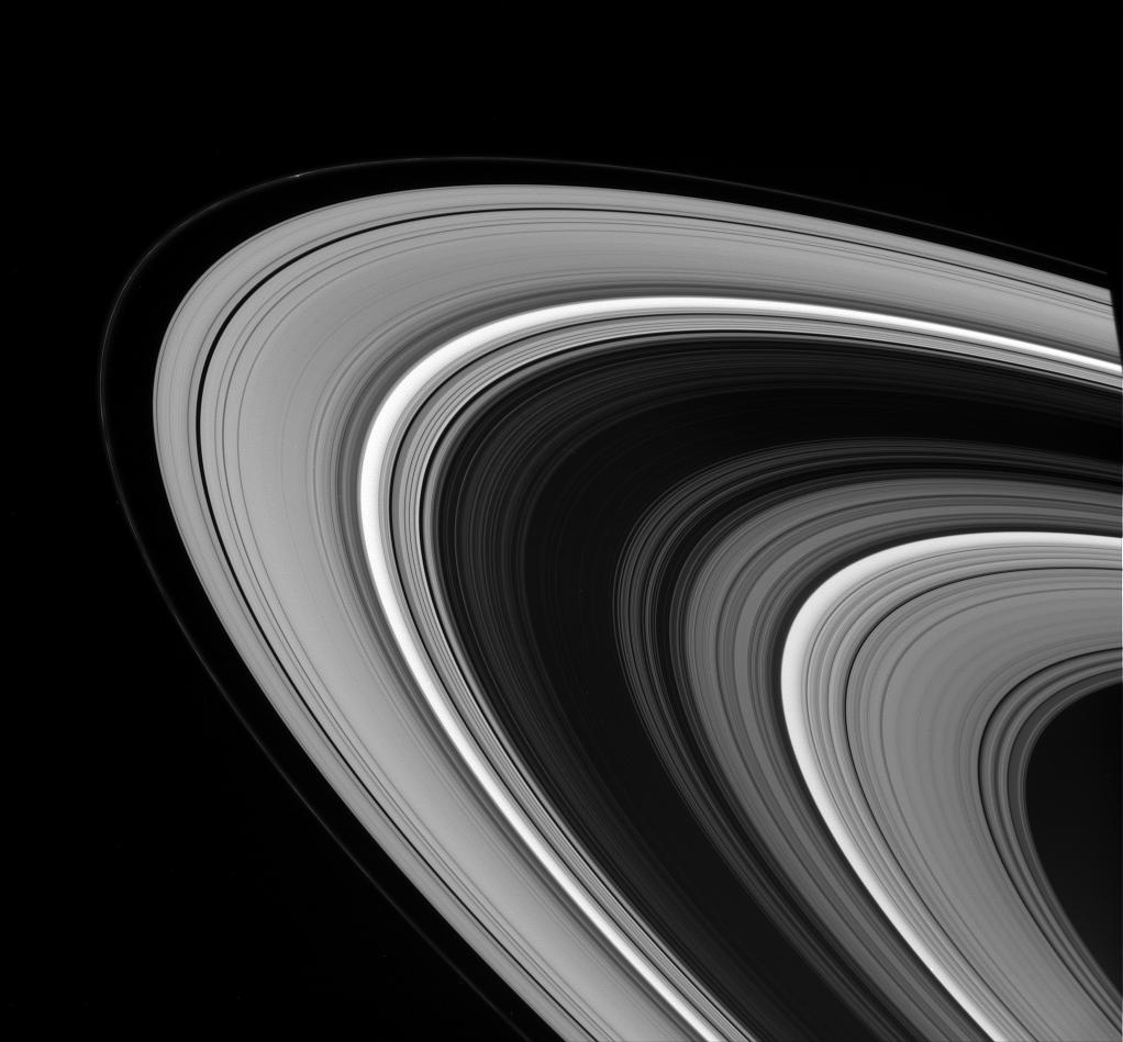 Saturn's main rings