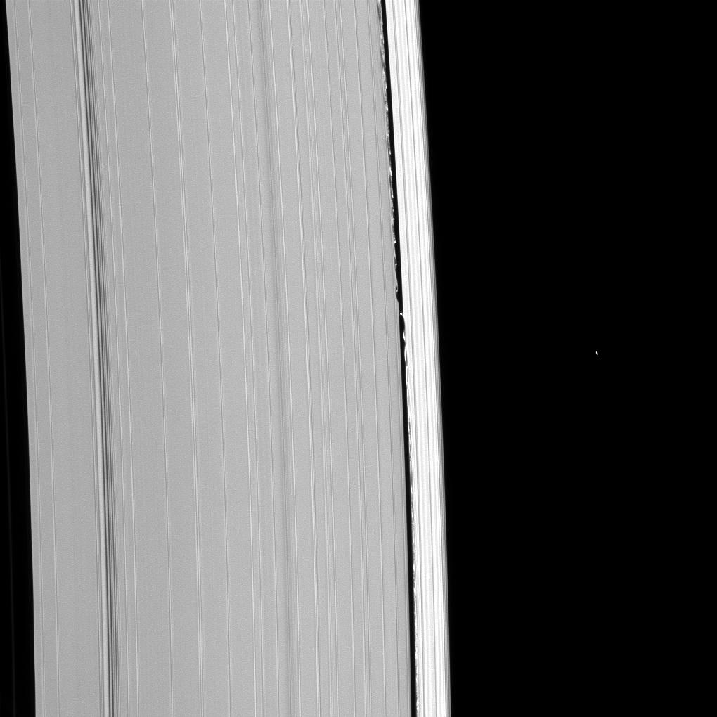 Daphnis and the Keeler Gap in Saturn's rings