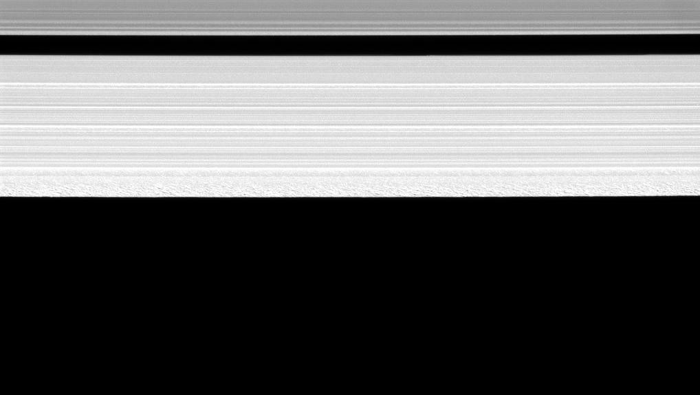 Outer portion of Saturn's A ring