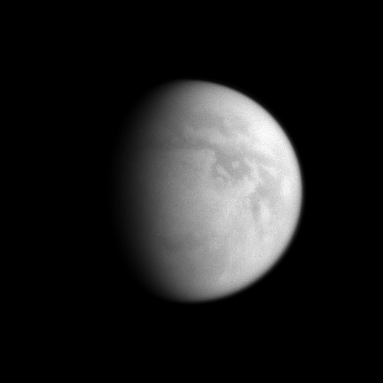 Titan's south polar region