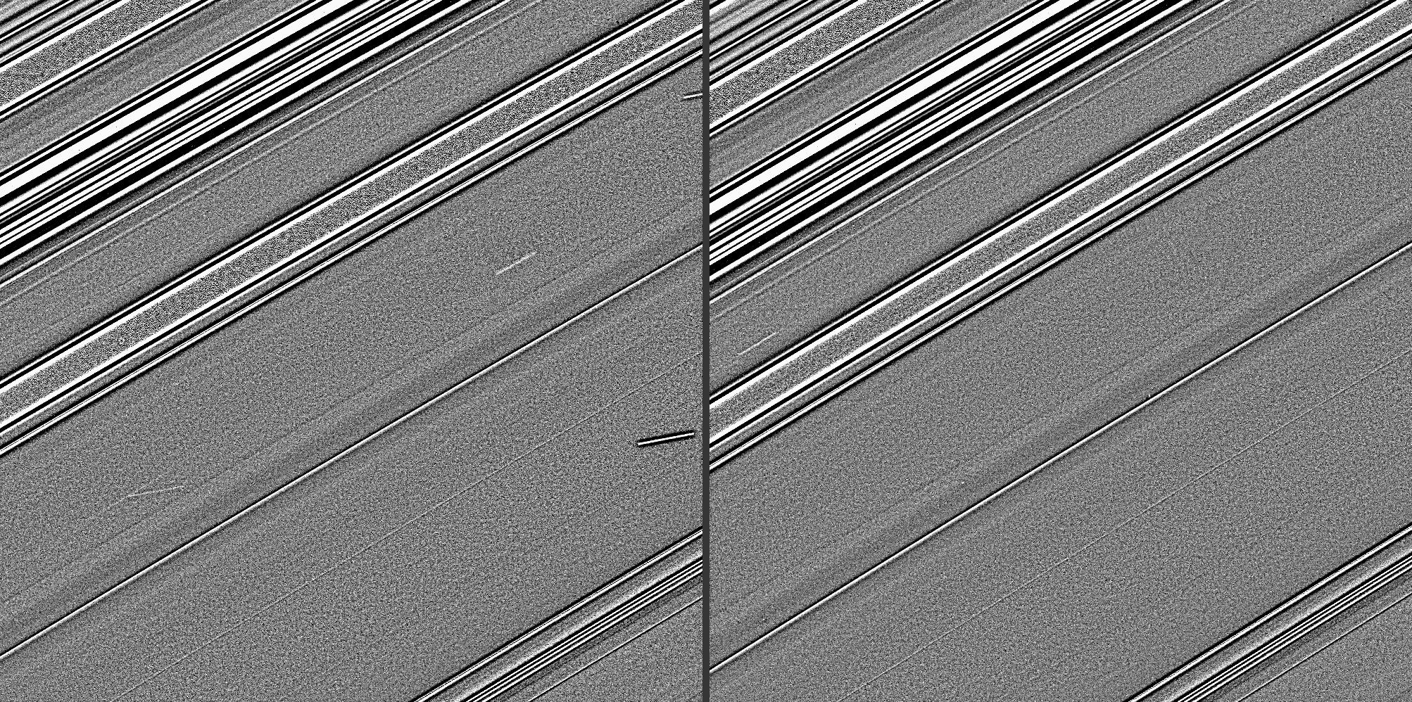 Streaks in Saturn's C ring