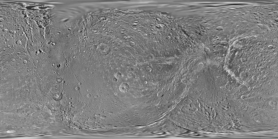 A global map of Saturn's moon Dione