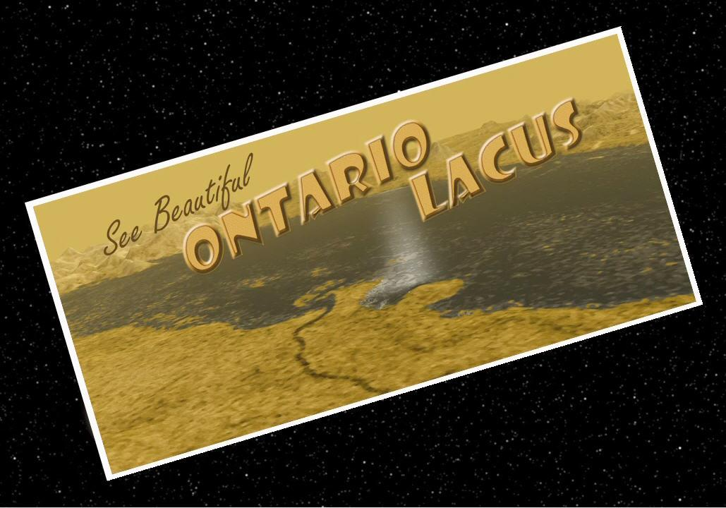 Artist's concept of a postcard for Ontario Lacus