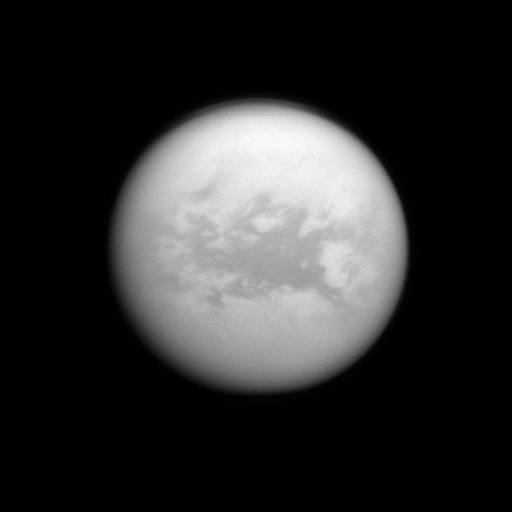 A dark region on Titan called Belet