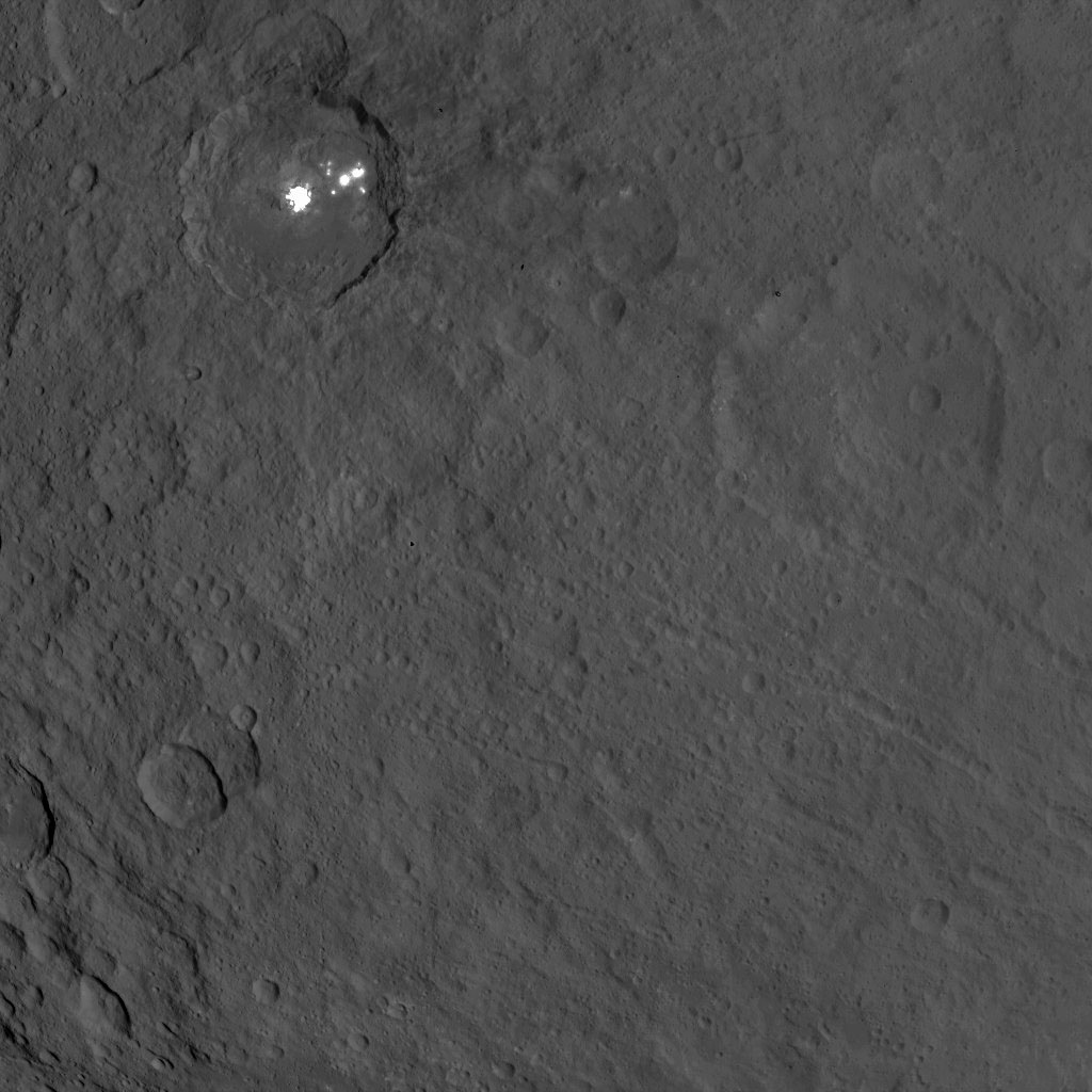 Dawn Survey Orbit Image 53