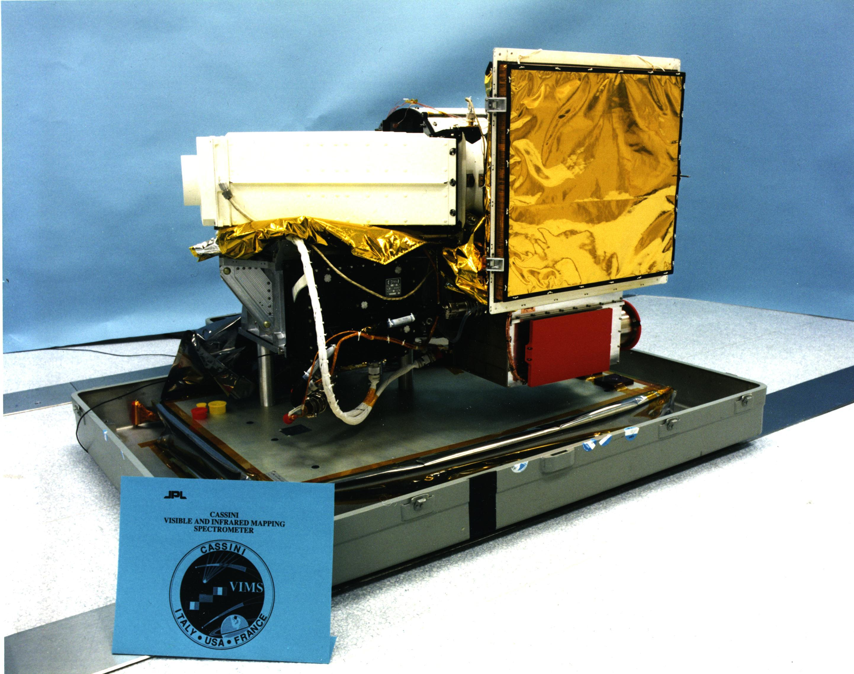 Cassini's Visual and Infrared Mapping Spectrometer