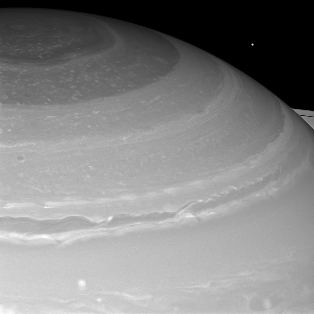 Saturn and Mimas