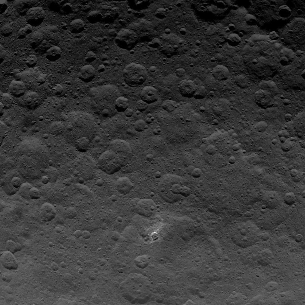 Dawn Survey Orbit Image 25