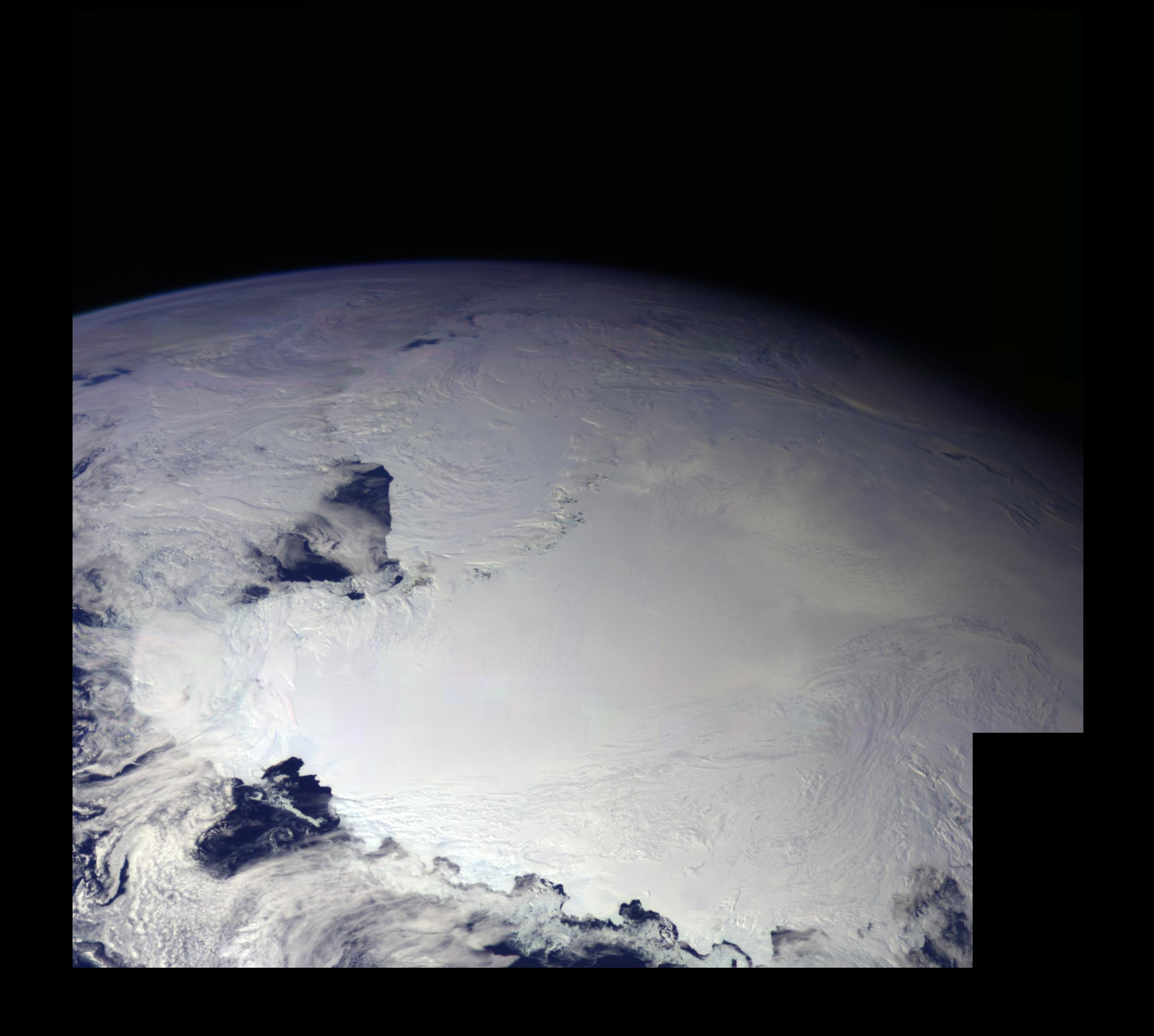 color picture of Antarctica