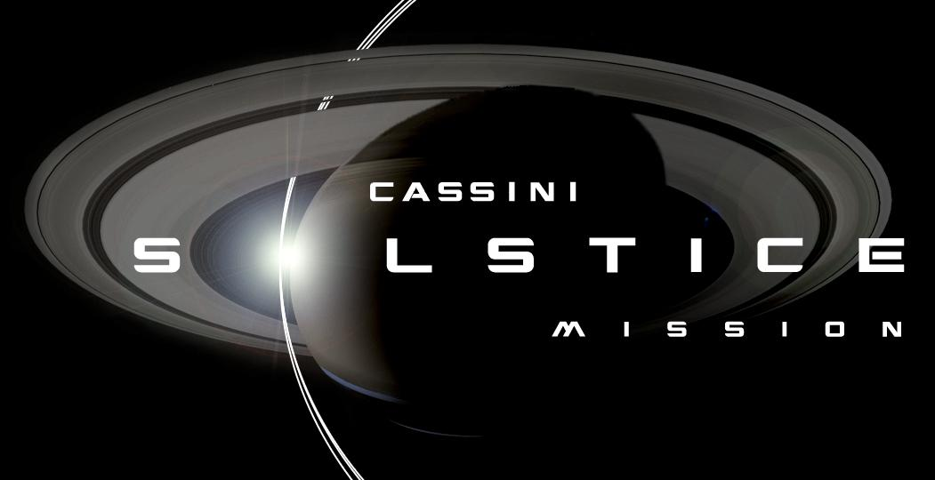 Cassini Solstice Mission artwork