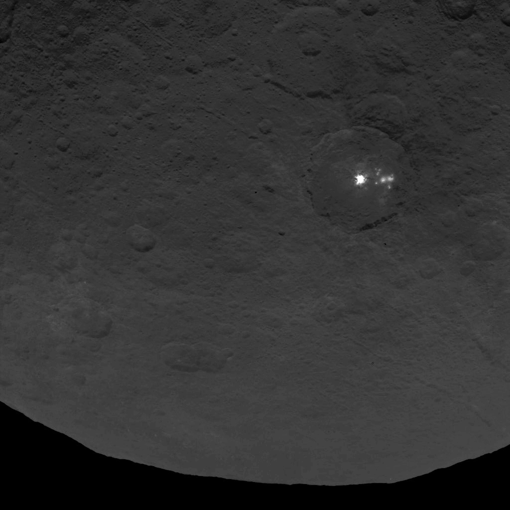 Dawn Survey Orbit Image 11