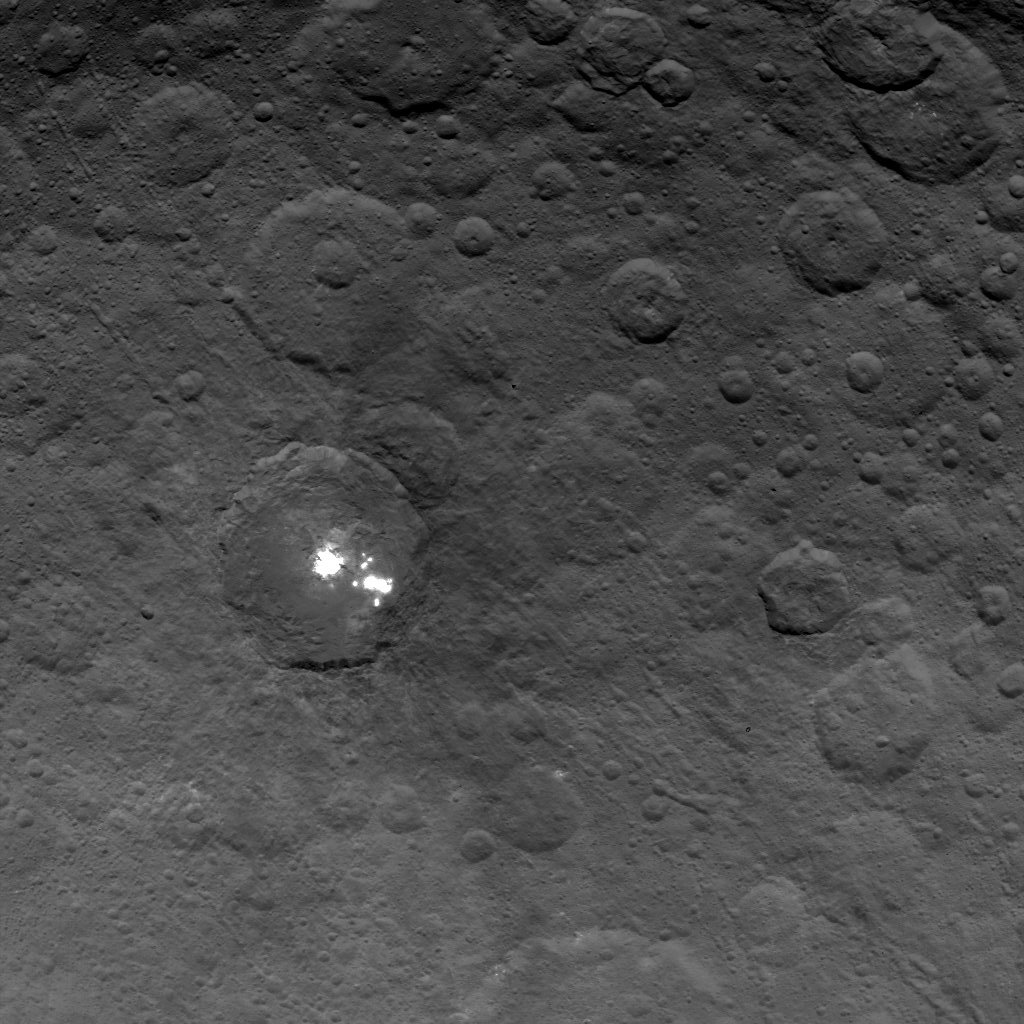 Bright Spots in Ceres' Second Mapping Orbit
