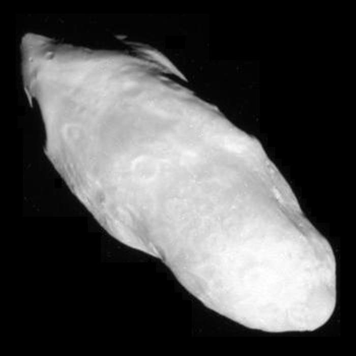 Saturn's potato-shaped moon Prometheus