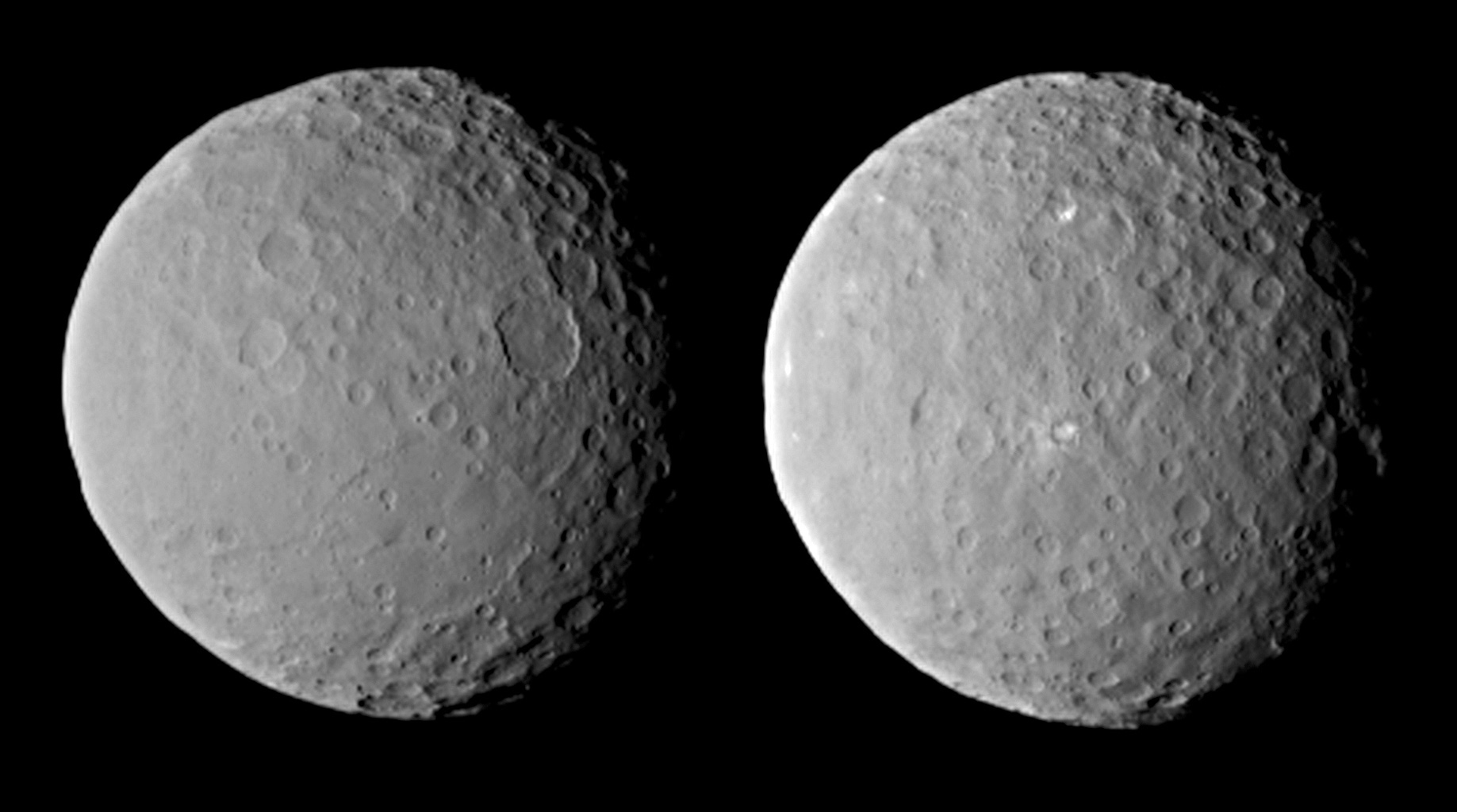 Views of Ceres on Approach