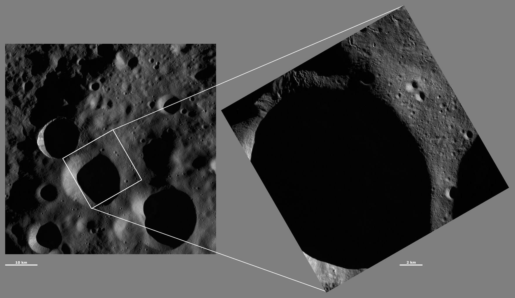 HAMO and LAMO Images of Floronia Crater