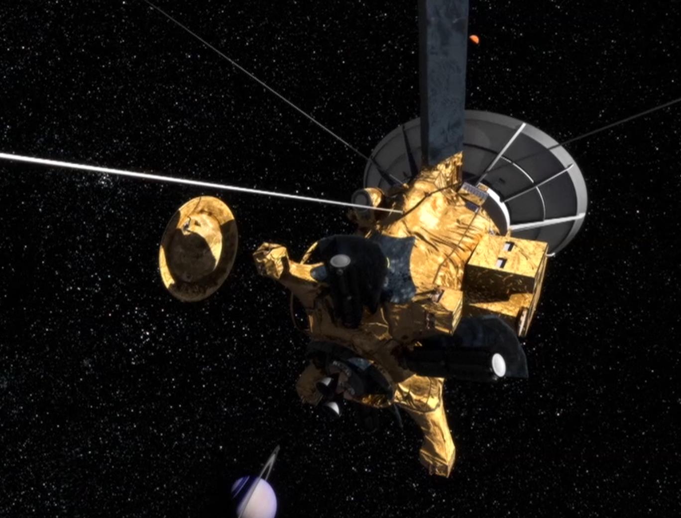 overview cassini nasa solar system exploration - HD1368×1042