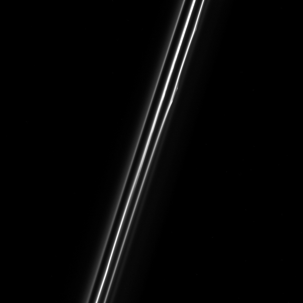 The F ring of Saturn