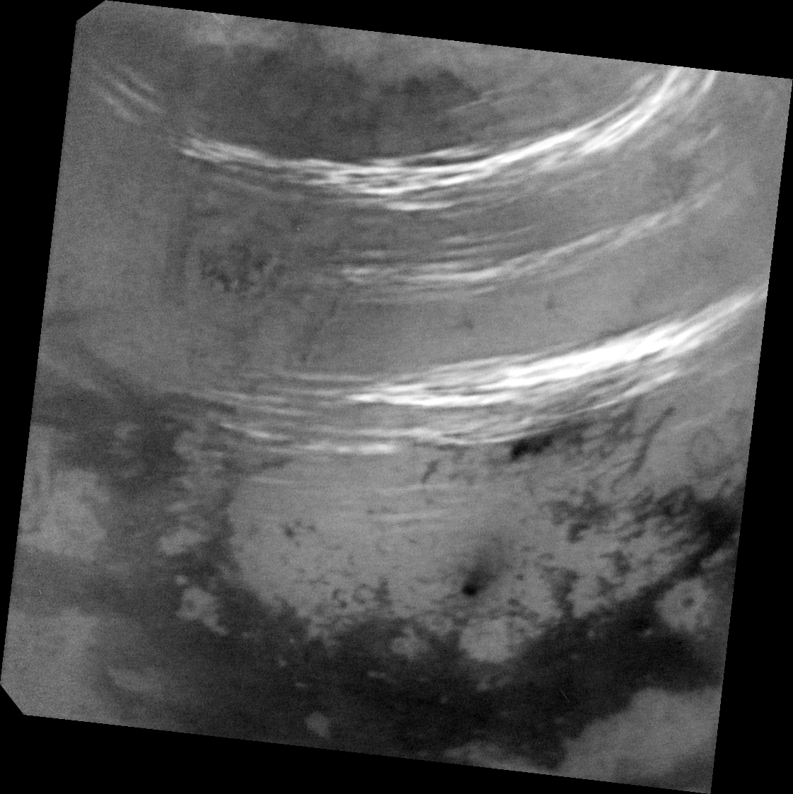 Bright clouds on Titan