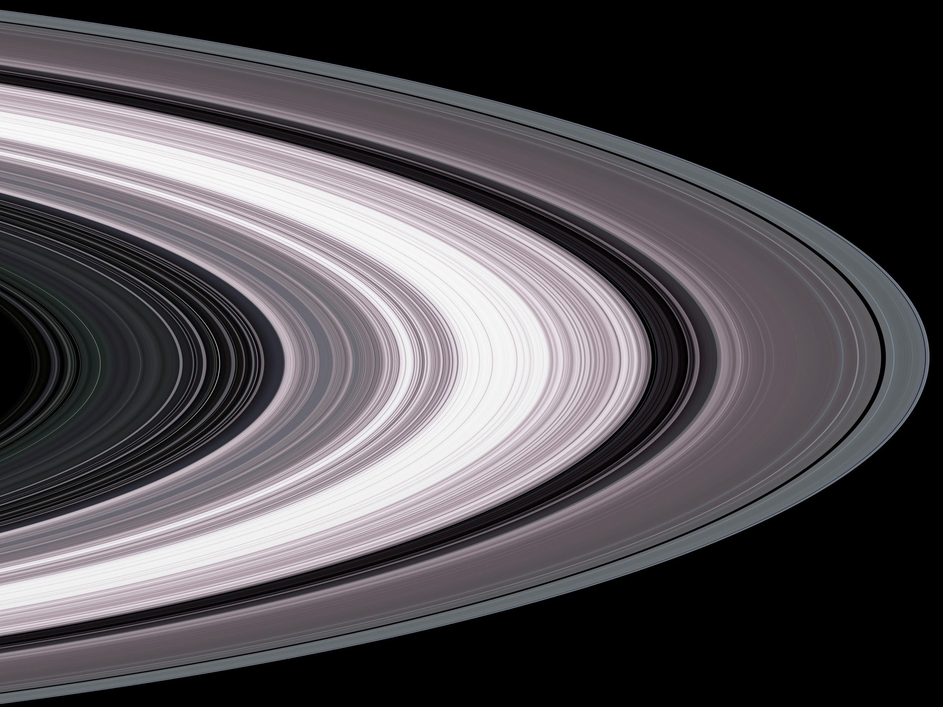Small Particles In Saturn S Rings Nasa Solar System