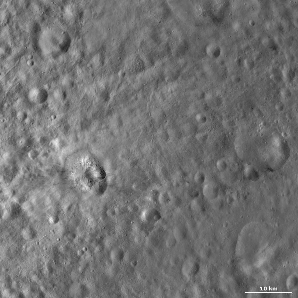 Teia Crater