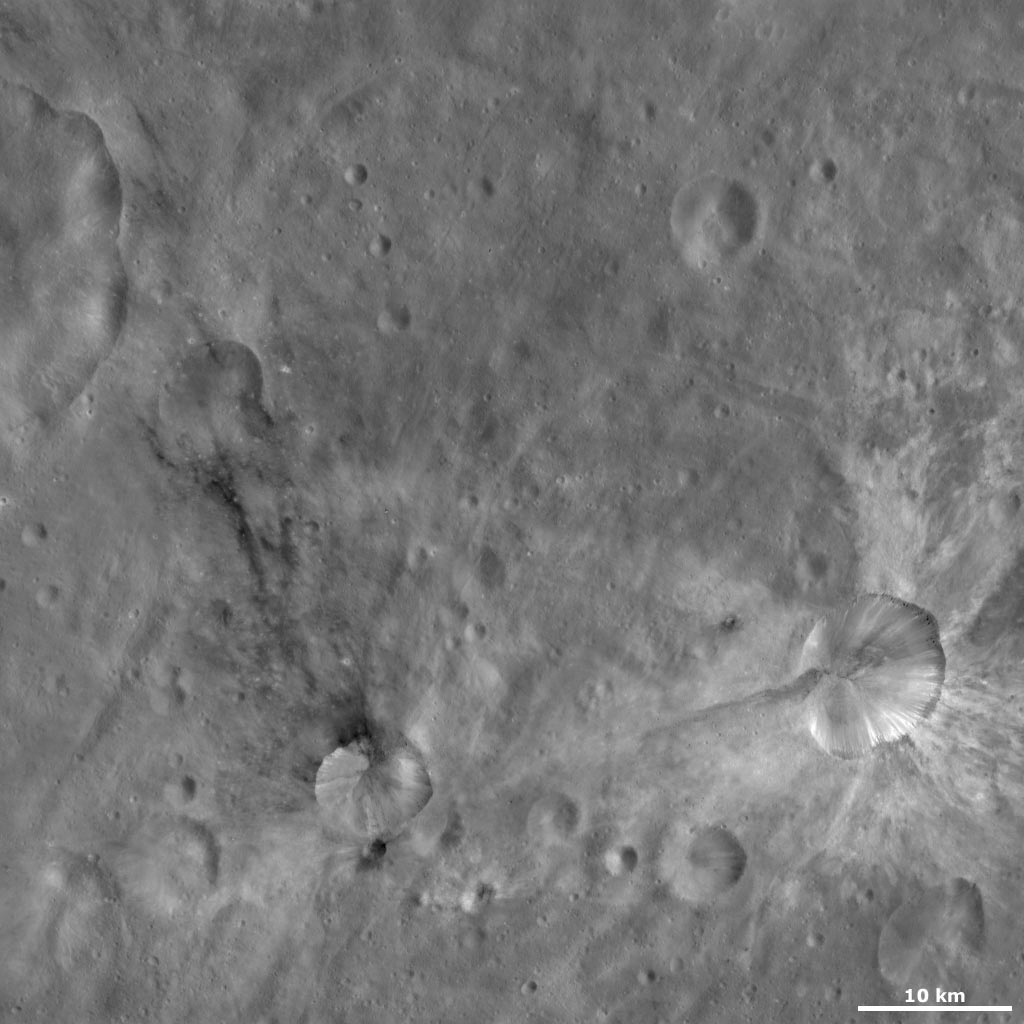 Sossia and Canuleia Craters