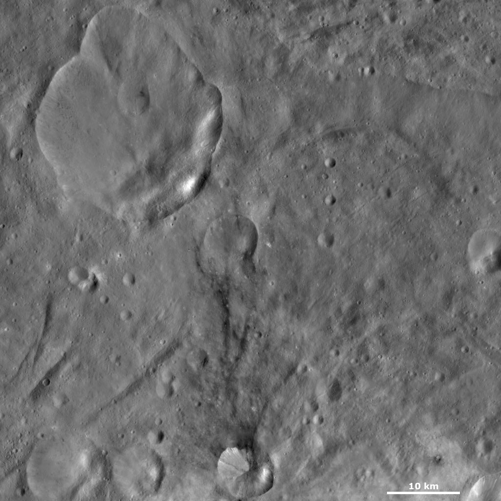 Urbinia and Sossia Craters