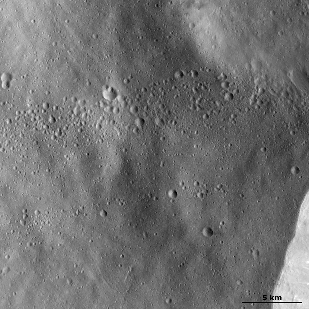 Lines of Craters