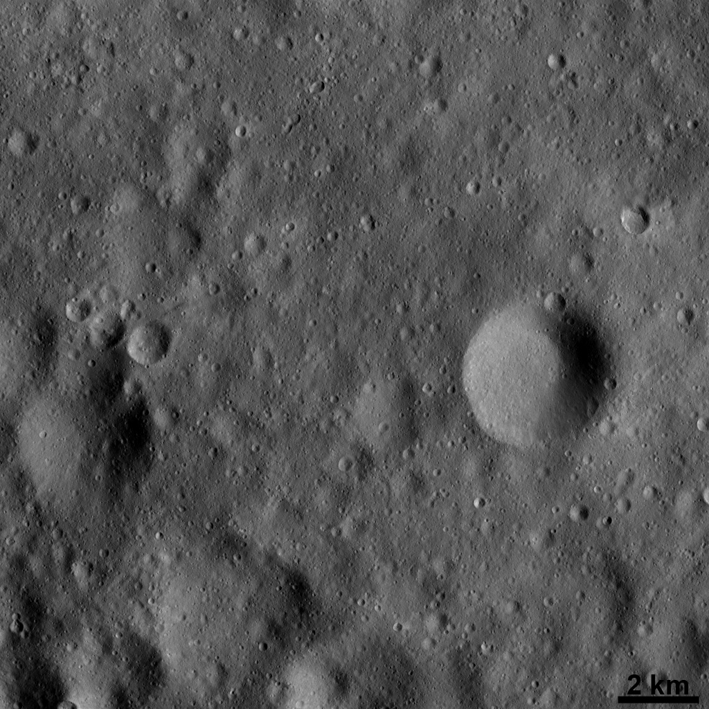 Vesta's Surface at High Resolution: Dominated by Impact Craters