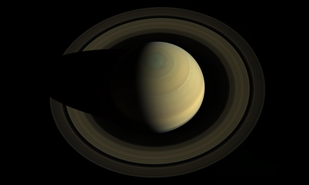 Saturn, jewel of the solar system