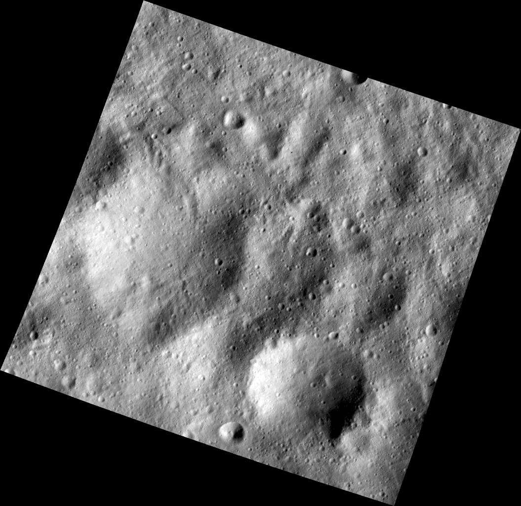 Buried Craters on Vesta