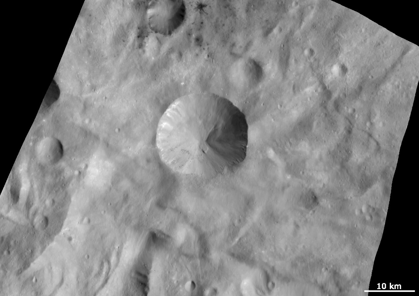 Sextilia Crater and Surroundings
