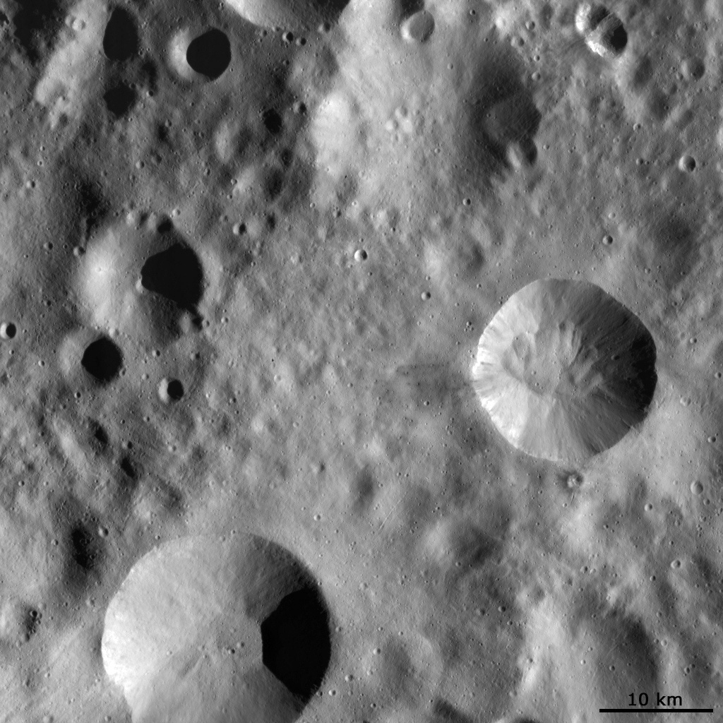 Impact Craters with Different Preservation States