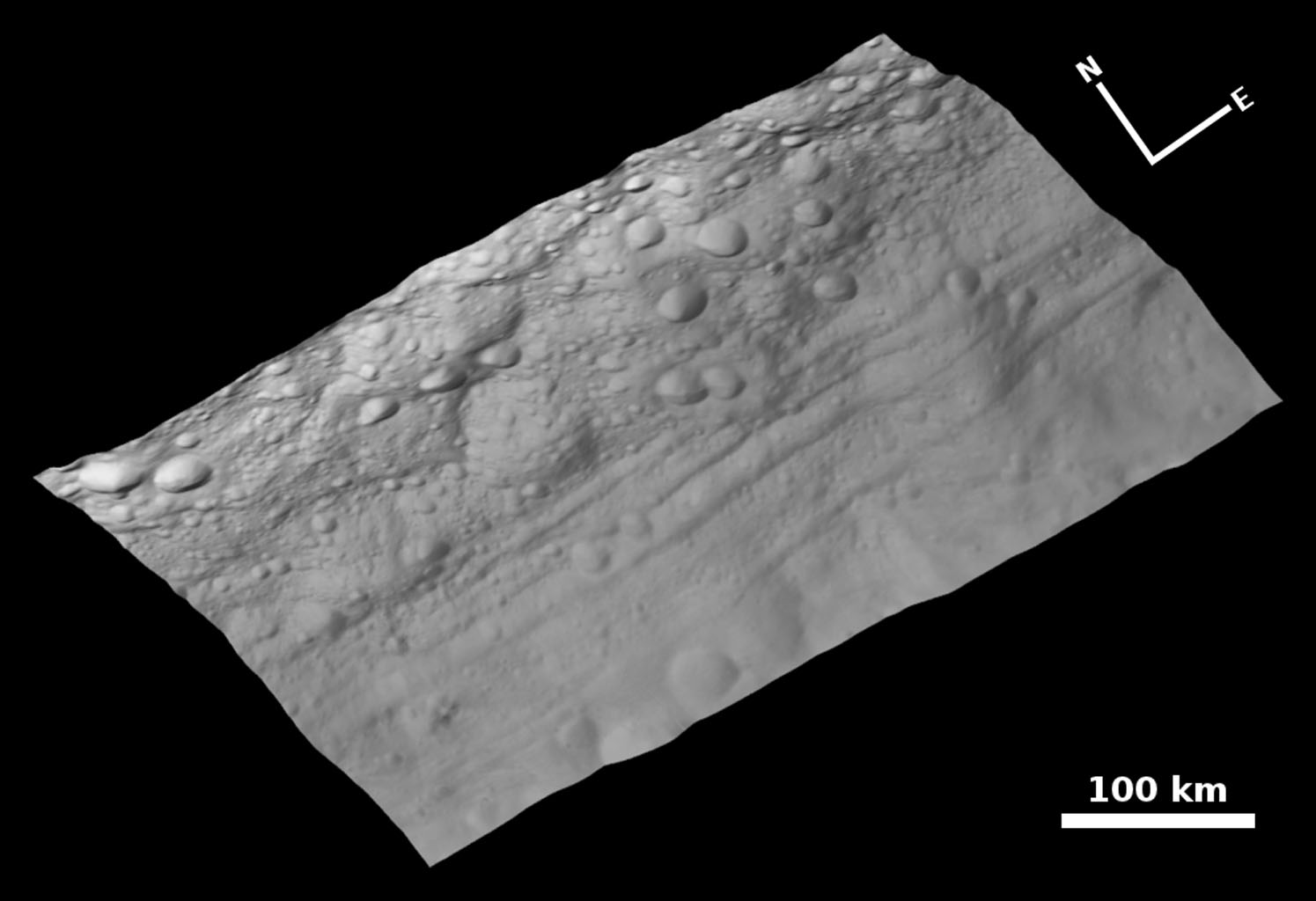 Topography of Troughs on Vesta