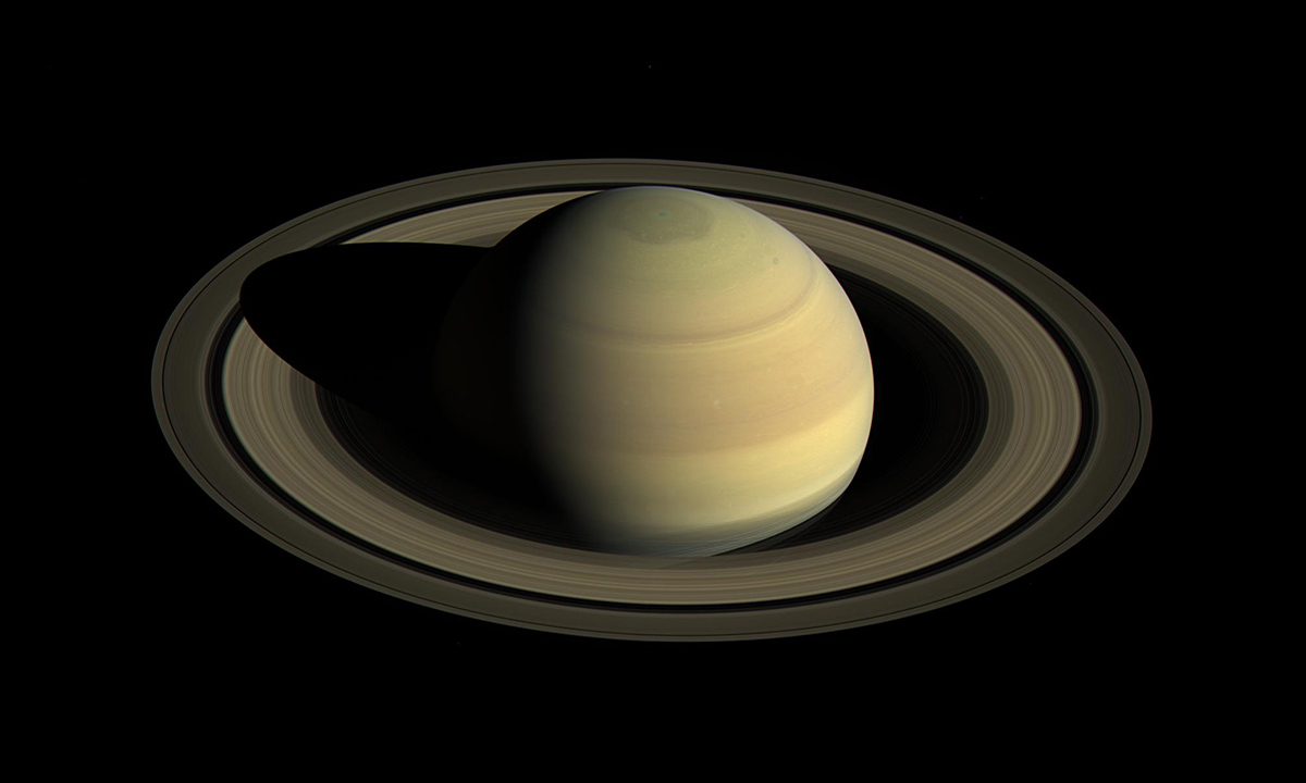 Since NASA's Cassini spacecraft arrived at Saturn in mid-2004, the planet's appearance has changed greatly.
