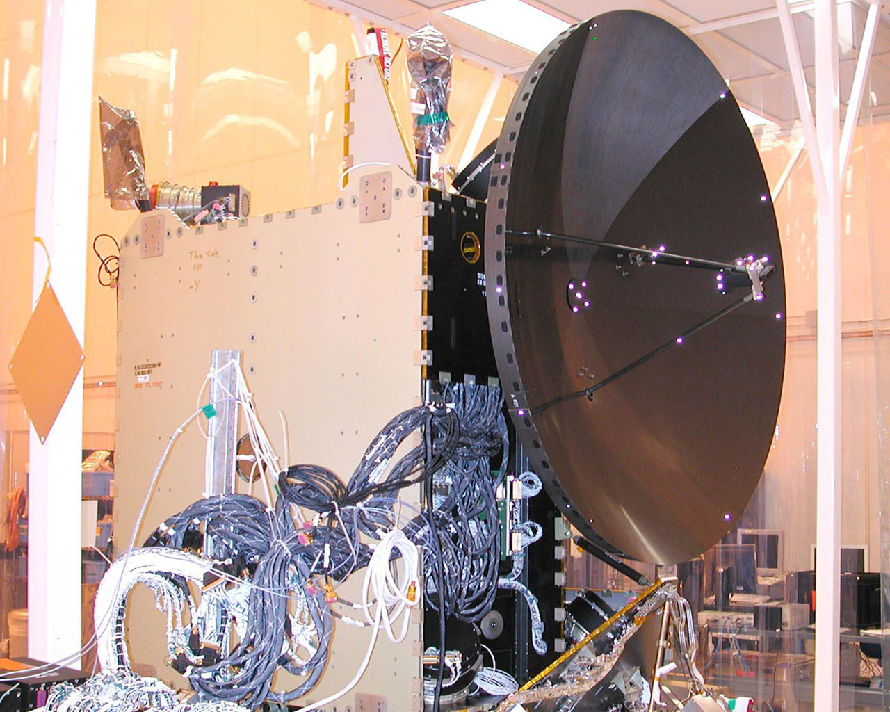 Dawn Spacecraft After Installation of High Gain Antenna