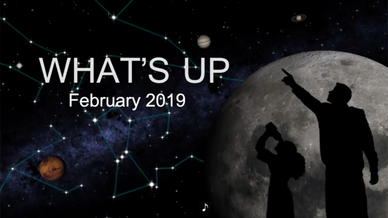 What's Up: February 2019 Skywatching from NASA | NASA Solar