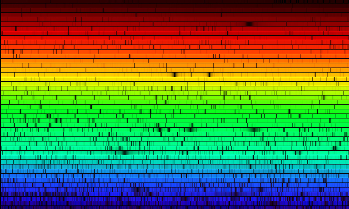 Image result for solar spectrum
