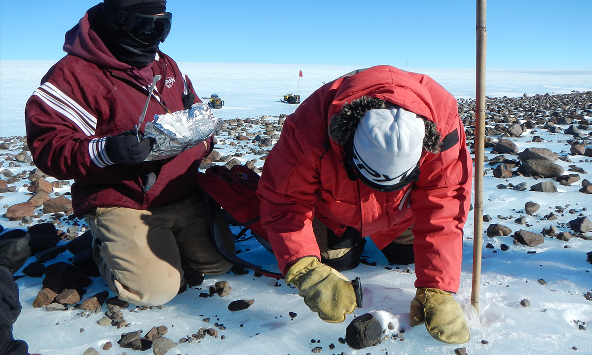 NASA, the National Science Foundation (NSF) and the Smithsonian Institution (SI) recently renewed their agreement to search for, collect and curate Antarctic meteorites in a partnership known as ANSMET—the Antarctic Search for Meteorites Program.