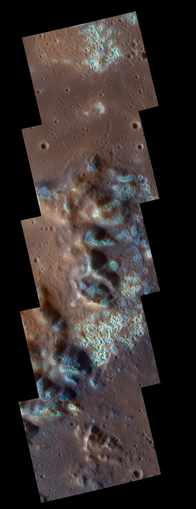 NASA's MESSENGER spacecraft discovered strange hollows on the surface of Mercury.