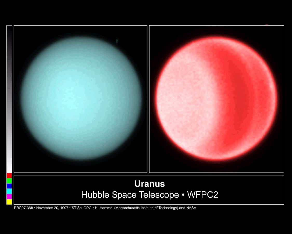 Using visible light, astronomers for the first time this century have detected clouds in the northern hemisphere of Uranus.
