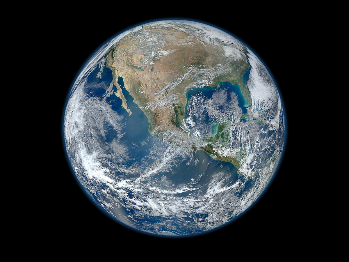 Behold one of the more detailed images of the Earth yet created.