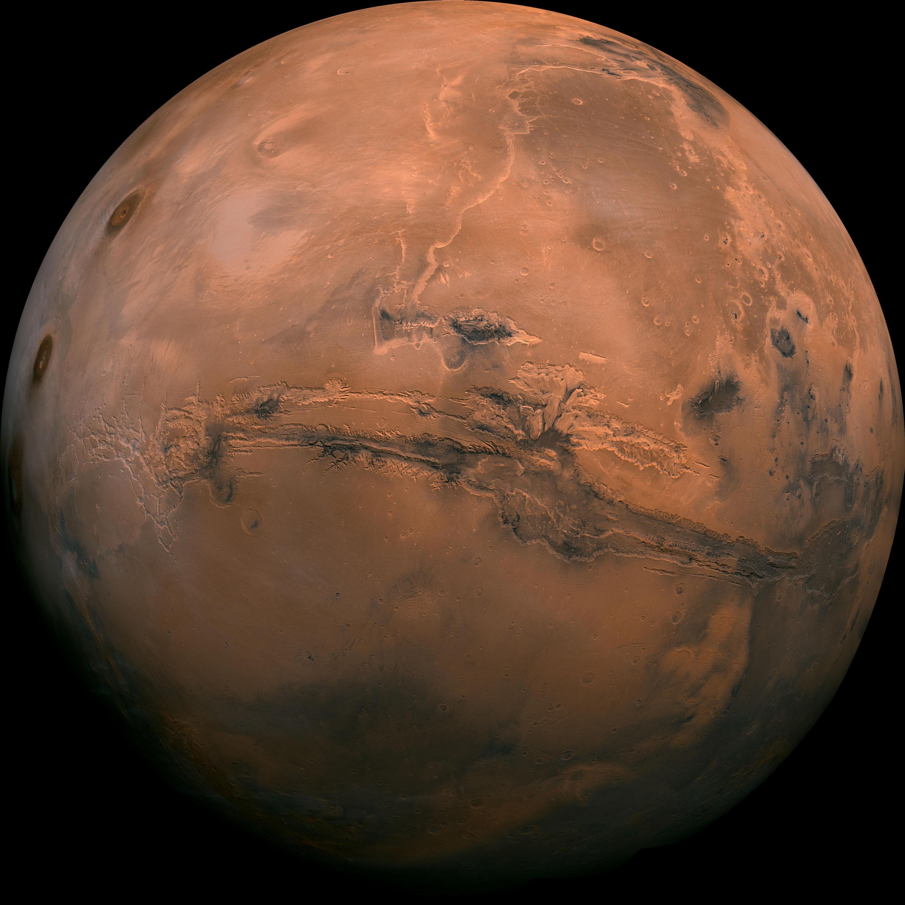 Life On Mars: Scientists Believe Large Regions Underground ...
