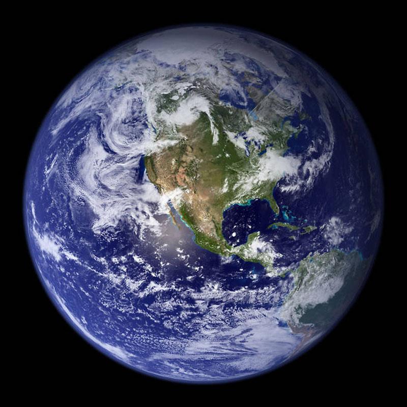 Blue Marble 2002 | NASA Solar System Exploration