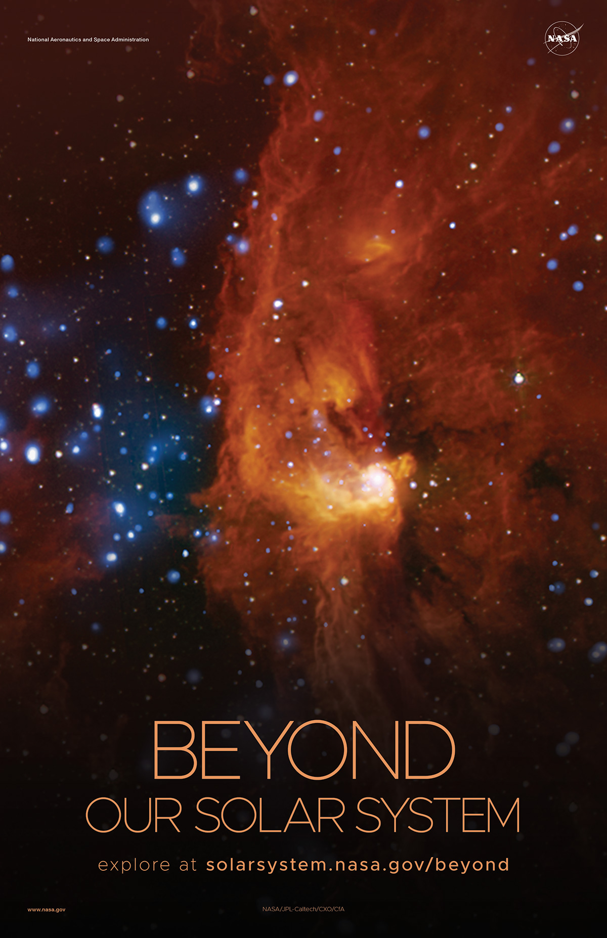 Beyond Our Solar System Poster - Version E