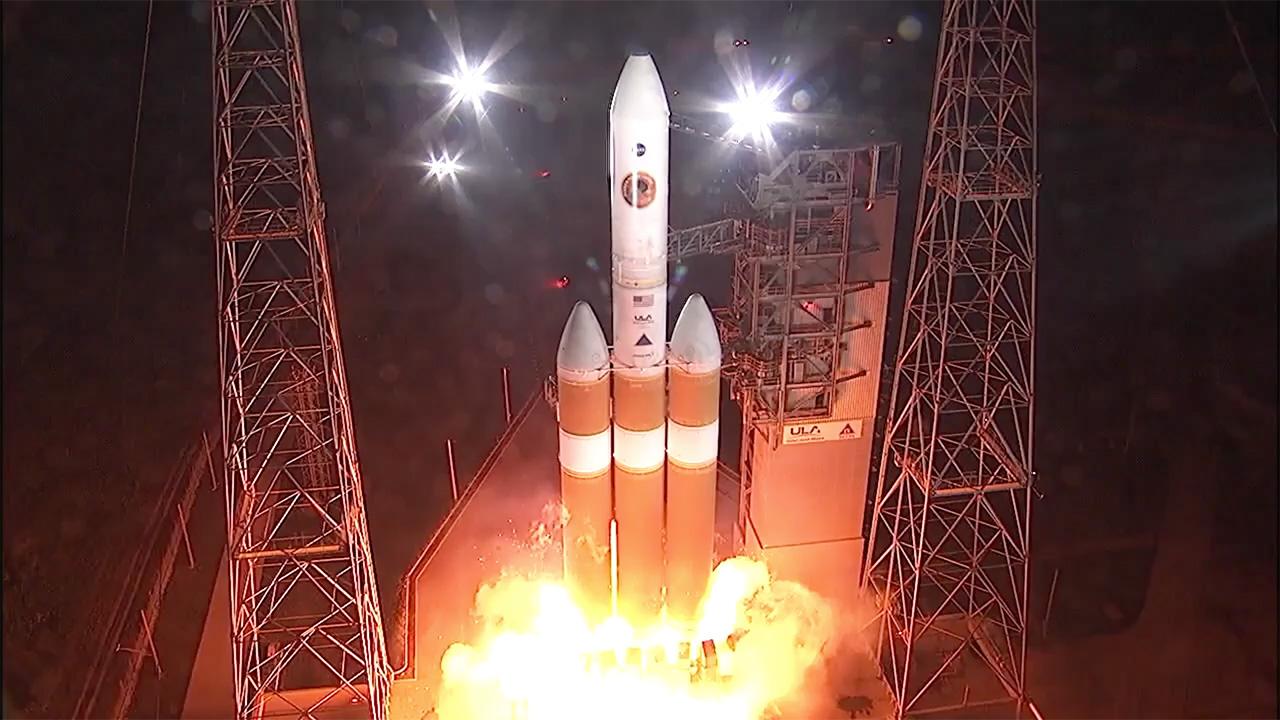 Parker Solar Probe Launch Solar System Exploration Nasa