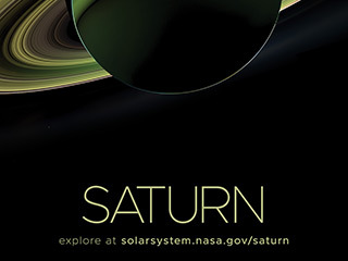 Saturn Poster - Version D