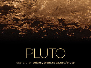 Pluto Poster - Version B
