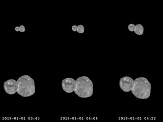New Horizons Arrokoth (2014 MU69) Approach